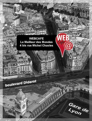 cybercafé - webcafé - Paris Gare de Lyon