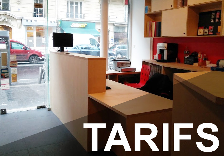 Tarifs impression cybercafe paris